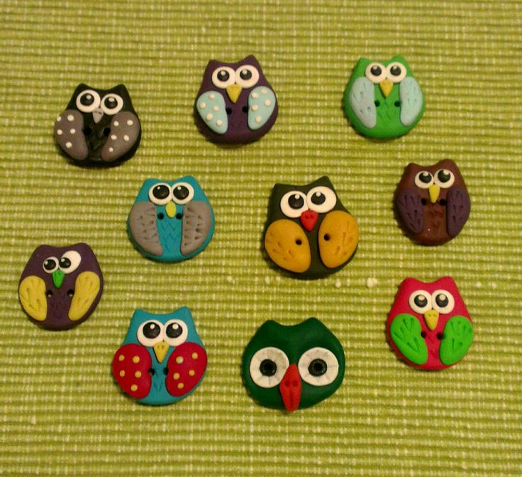 Fimo buttons  :)
