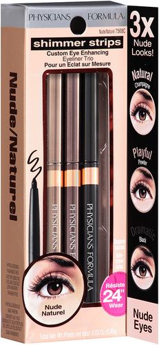 Physicians Formula Shimmer Strips Eye Enhancing Eyeliner Trio - Universal Looks: Nude Eyes (7568C) $14.79 - from Well.ca