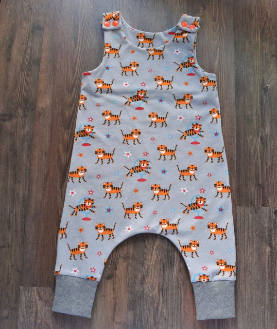 Your little one will be so comfortable and cozy in this adorable cotton romper…