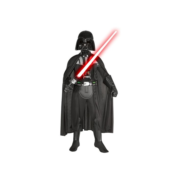 Star Wars Darth Vader Deluxe Costume - Kids, Boy's, Size: Small, Black