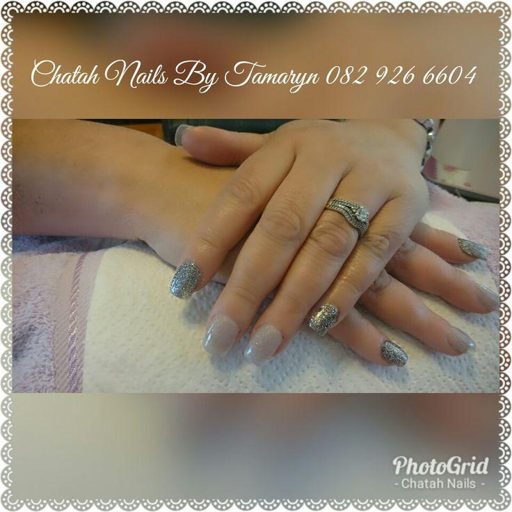Acrylic bling. Chatah Nails By Tamaryn