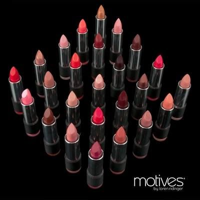 Primary Benefits of Motives® Rich Formula Lipstick: Luxurious and even coverage for luscious lips Smooth, rich, creamy formula Enriched with minerals and vitamins to increase wearability and add to the longevity of the true color Smoothes out fine lines and creases, while conditioning and hydrating the lips Transforms into a fluid veil of radiant color when it touches your lips; so fabulous you will want one in every shade #Parabenfree. To purchase go to www.Activeshop247.com