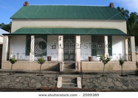 Karoo style farm house