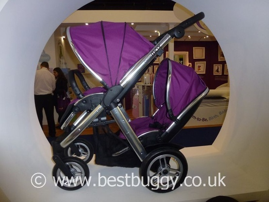 Babystyle Oyster Max - new tandem pushchair
