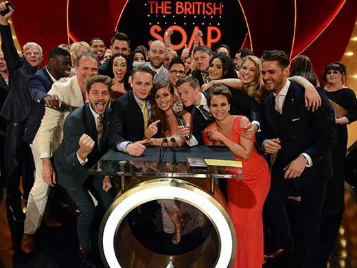 Hollyoaks Wins Best Soap at the British Soap Awards 2014
