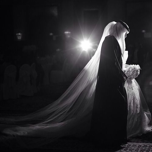 Bride & Groom #Arab #Wedding