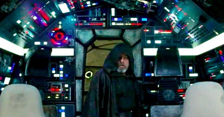New Last Jedi TV Trailer Has Luke Returning to the Millennium Falcon -- Luke Skywalker goes inside the Millennium Falcon in the latest Star Wars 8 footage that debuted during Game 7 of the World Series. -- http://movieweb.com/star-wars-8-new-footage-luke-skywalker-millennium-falcon/
