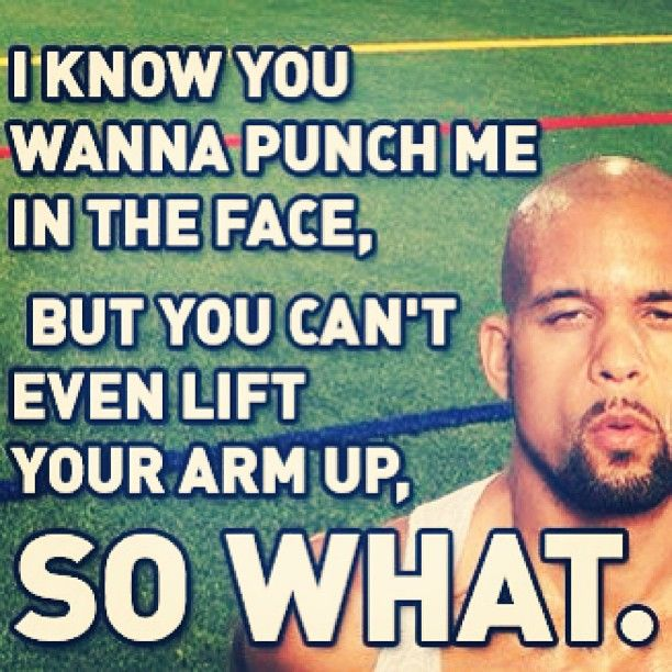 LoL so true! love working out with shaun t. That is awesome. Stealing it with my challenge groups! ;)