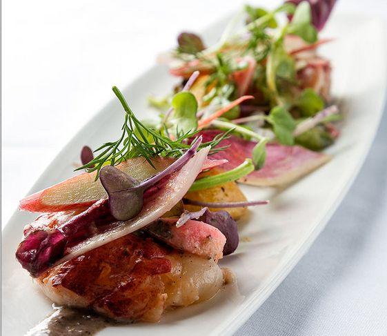 Enjoy delicious, fresh, gourmet menu selections in Clara's Restaurant.