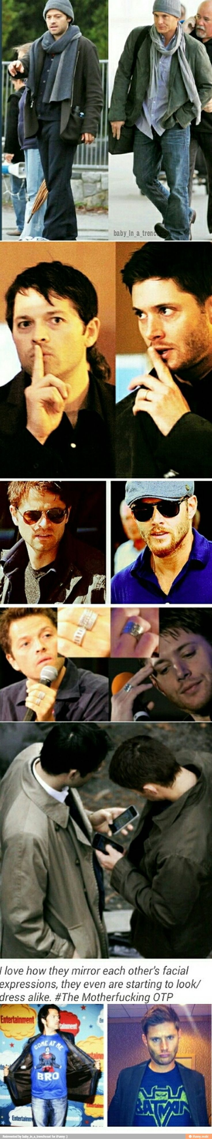 All the ways Misha is following Jensen's (rather perfect) footsteps.