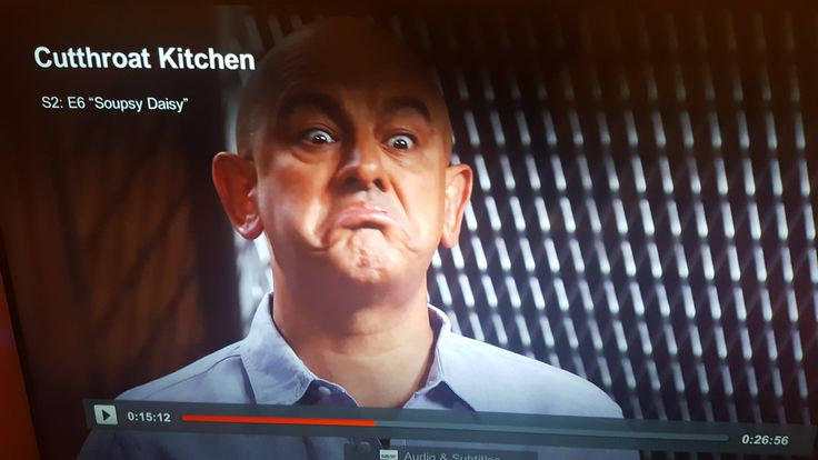 Paused Cutthroat Kitchen at the perfect time