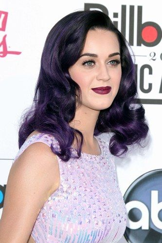 Katy Perry hair, but unfortunately the purple would fade real bad after the 2nd wash! :(