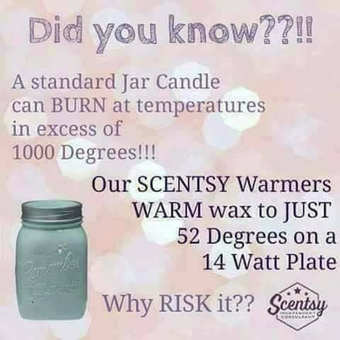 Scentsy is so much safer than all the other brands out there ❤️