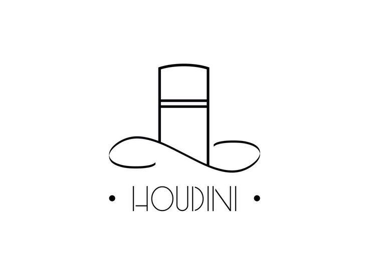Houdini. #magic #tophat #toplogo #logo #logodesign #design #ftp #callitmagic #houdini