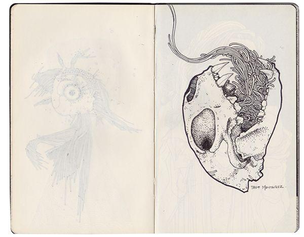 Sketchbook #4 on Behance tavomontanez.com