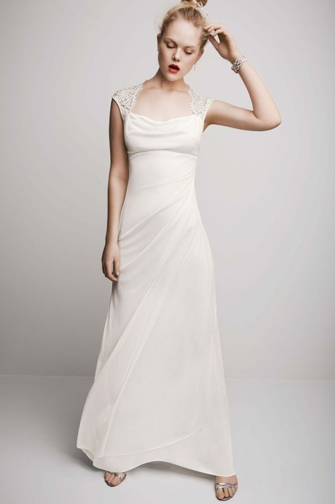 Best Square Wedding Dress Ideas On Pinterest Dress Necklines