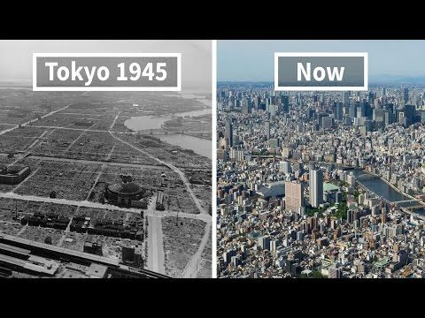 Before And After Photos Of Famous Cities