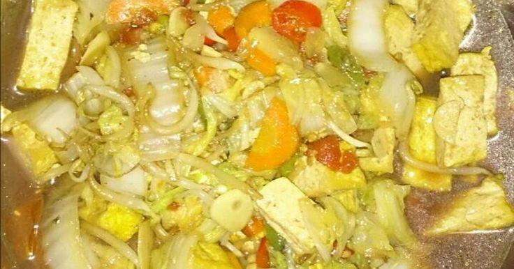 Resep Tumis Tahu Sayur Kuah pedas favorit. Menu hari ini, memanfatkan bahan seadanya di dalam kulkas. 😂