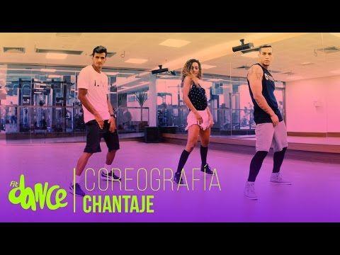 Chantaje - Shakira ft Maluma - Easy Fitness Dance Choreography - Saskia's Dansschool - YouTube