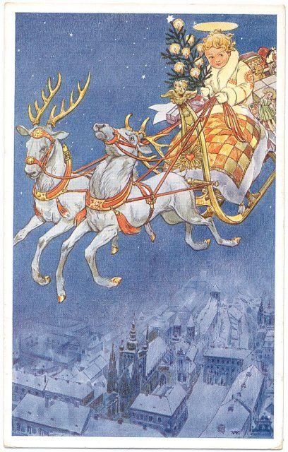 Sbírky Východočeského muzea v Pardubicích: Pohlednice » Přání: Vánoce » tp-4128.jpg