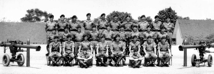 British; King's Shropshire Light Infantry, Anti Tank Platoon Malaysia 1967.  KSLI were stationed at Terendak a part of 28th Commonwealth Brigade.
