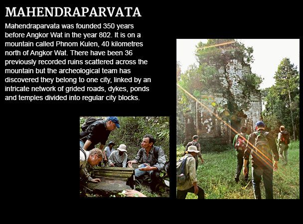 Mahendraparvata Ancient Settlements Dwellings