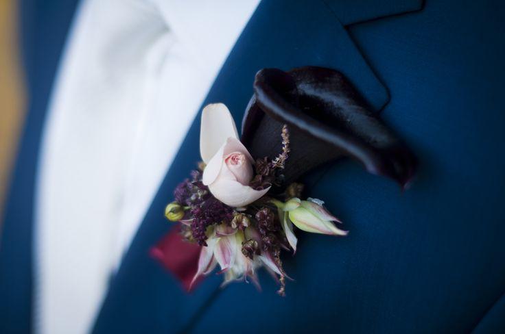 INNA Studio_ buttonhole / butonierka / kalia / fot. Blackgalaxy Photography