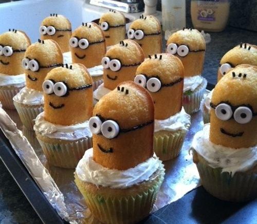 Despicable Me~Minions cupcakes