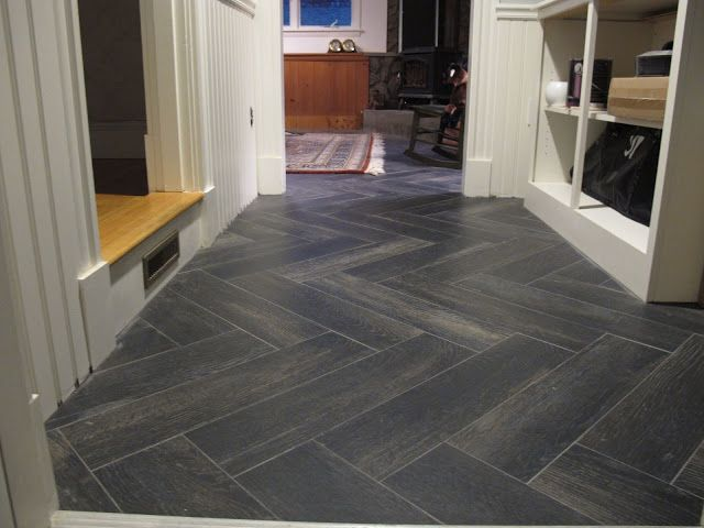 Mixing Ceramic Porcelain Wood Look A Alike Tiles With Real