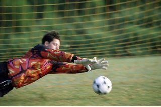 Goalkeeper Exercises to Do Alone | eHow