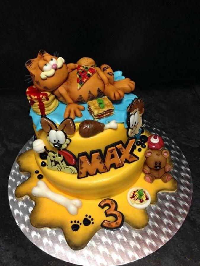Garfield - Cake by Romana Bajerová