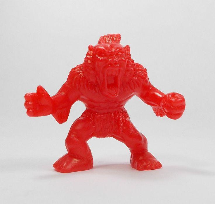 Monster In My Pocket - Series 1 - 24 Windigo - Red