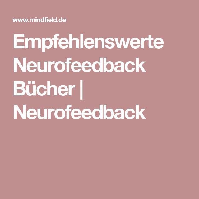 Empfehlenswerte Neurofeedback Bücher   Neurofeedback