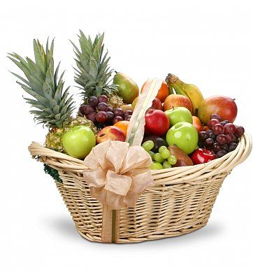 An abundance of fresh fruit makes this unique and large gift basket first in its class! Our First Class Fruit Gift Basket has lots to offer all who receive it and they will be so delighted when they lay their eyes on this special fruit gift basket! We've added a little something special to this fresh fruit gift basket; so send it today and make their day brighter. Perfect for all occasions. $99.99 http://www.littlegiftbasketboutique.com/item_1099/First-Class-Fruit-Gift-Basket.htm