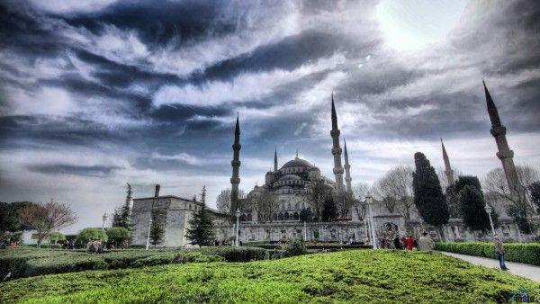 Istanbul (1920x1080) Wallpaper (İstanbul, Türkiye, Turkey, Manzara, Boğaziçi Köprüsü, Sultanahmet Camii, Ayasofya, Yedi Tepe, Surlar, Haliç, Bosphorus Bridge, Blue Mosque, Kız Kulesi, The Maidens Tower, Taksim Meydanı, Çamlıca Tepesi)