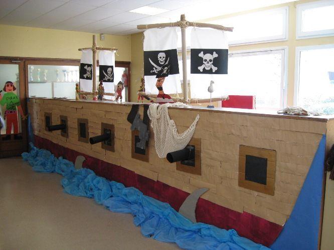 Les 25 meilleures id es de la cat gorie bateaux de pirates - Activite manuelle elementaire ...