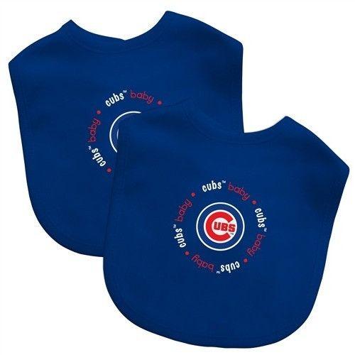 Chicago Cubs MLB Infant Baby Bibs