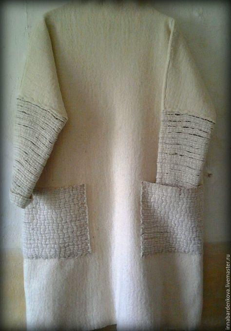 """Платье-пальто """"Топленое молоко"""" – купить в интернет-магазине на Ярмарке Мастеров с доставкой"""