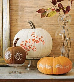 Pretty Pumpkin Decorating Decorations Pinterest