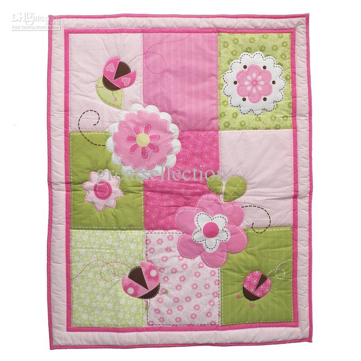 Wholesale new baby quilt play mat cotton fabric applique for Cheap baby fabric