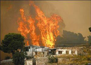 Ώρα Ελλάδος - Ώρα Αντίστασης...: Καίγονται χωριά στην Μονεμβασιά !!! Ξυπνούν Μνήμες 2007 εποχής Καραμανλή...