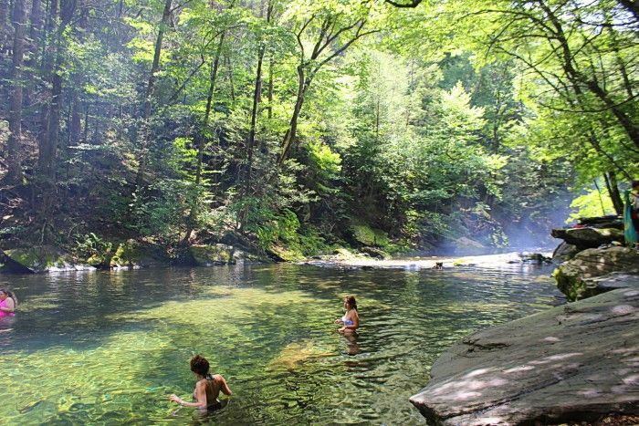 13 Underrated Tourist Spots in New York State 6. Peekamoose Blue Hole, Catskills
