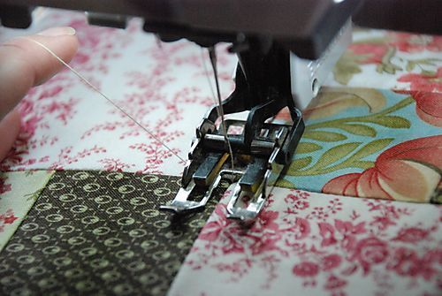 Machine Quilting Tutorial... lots of good info... including using a walking foot