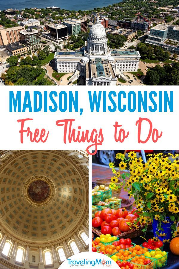 Madison Wisconsin is a vibrant capital city with tons of free things to do for f…