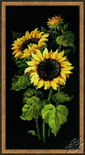 Sunflowers - Cross Stitch Kits by RIOLIS - 1056