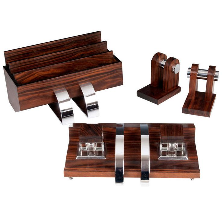 Art Deco Desk Set   From a unique collection of antique and modern desk  accessories at - 7 Best Designer Furniture - Office Desk Images On Pinterest