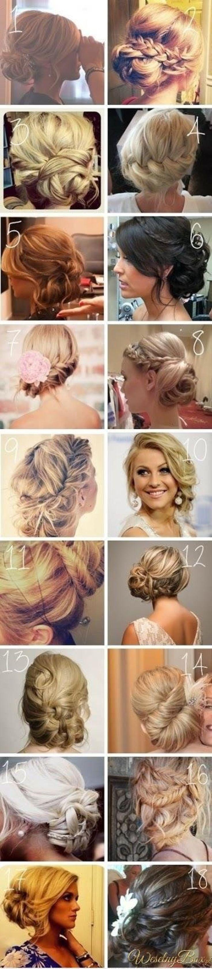 18 ślubnych fryzur
