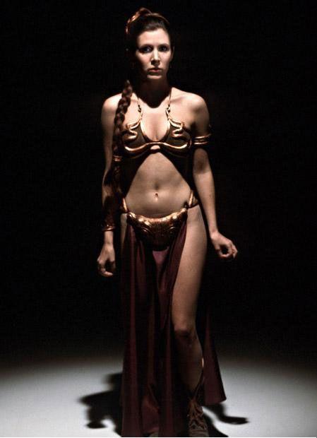 Princess Leia - Carrie Fisher - Star Wars, Return of the Jedi