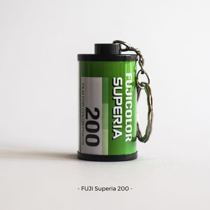FUJI Superia 200 | 35mm film photography | keychain