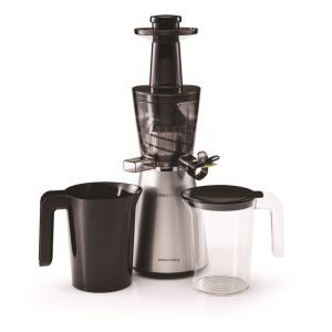 Compared to all other centrifugal juicers, this cold press juicer can extract 40 percent more juice! The juicer comes with a 7 year warranty so you'll now that you're investing in the right machine.